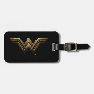 Justice League | Metallic Wonder Woman Symbol Luggage Tag
