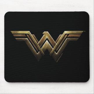 Justice League | Metallic Wonder Woman Symbol Mouse Pad