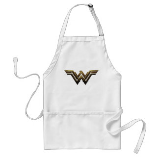 Justice League | Metallic Wonder Woman Symbol Standard Apron