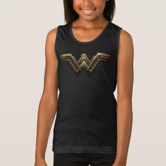 Justice League | Metallic Wonder Woman Symbol Tank Top