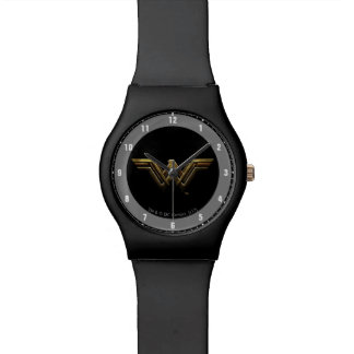 Justice League | Metallic Wonder Woman Symbol Watch