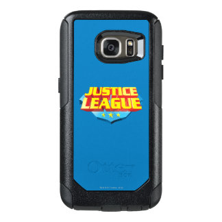 Justice League Name and Shield Logo OtterBox Samsung Galaxy S7 Case