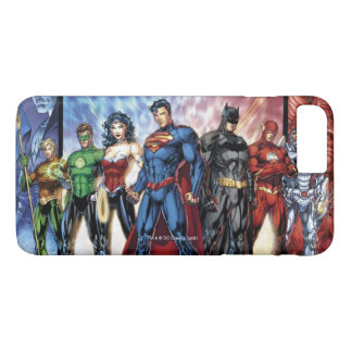Justice League | New 52 Justice League Line Up iPhone 7 Plus Case