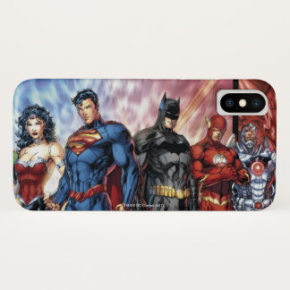 Justice League | New 52 Justice League Line Up iPhone X Case