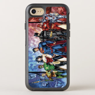 Justice League | New 52 Justice League Line Up OtterBox Symmetry iPhone 7 Case