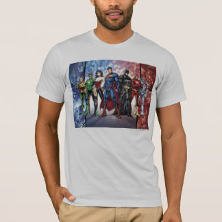 Justice League | New 52 Justice League Line Up T-Shirt