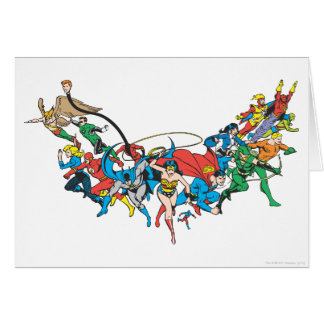 Justice League of America Group 2 Card