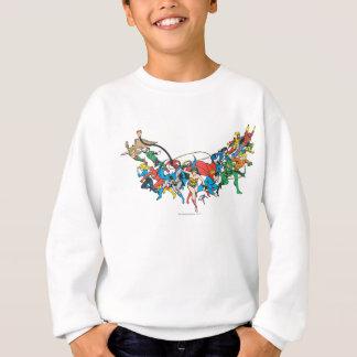 Justice League of America Group 2 Sweatshirt