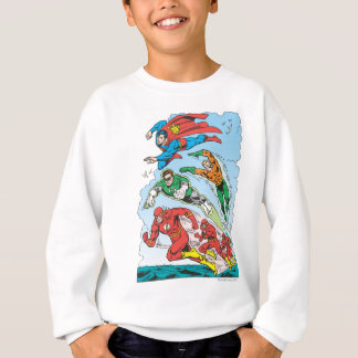 Justice League of America Group 3 Sweatshirt