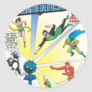 Justice League of America Issue #12 - June Round Sticker