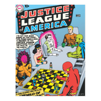 Justice League of America Issue #1 - Nov Postcard
