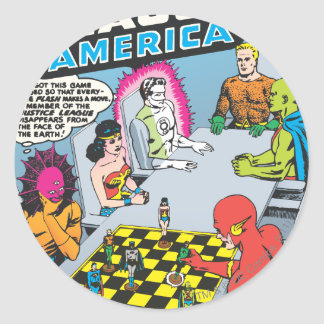 Justice League of America Issue #1 - Nov Round Sticker
