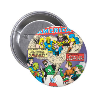 Justice League of America Issue #21 - Aug 2 Inch Round Button