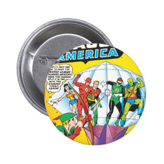 Justice League of America Issue #4 - May 2 Inch Round Button