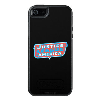 Justice League of America Logo OtterBox iPhone 5/5s/SE Case