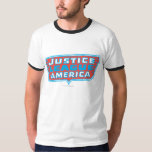 Justice League of America Logo T-shirts