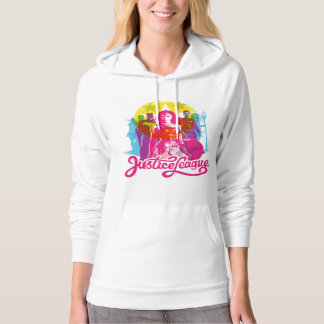 Justice League | Retro Group & Logo Pop Art Hoodie