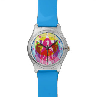 Justice League | Retro Group & Logo Pop Art Watch