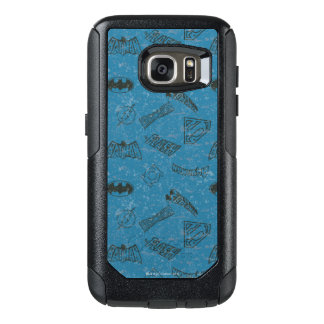 Justice League Rise Up Pattern OtterBox Samsung Galaxy S7 Case