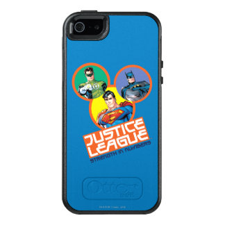 "Justice League ""Strength in Numbers"" OtterBox iPhone 5/5s/SE Case"