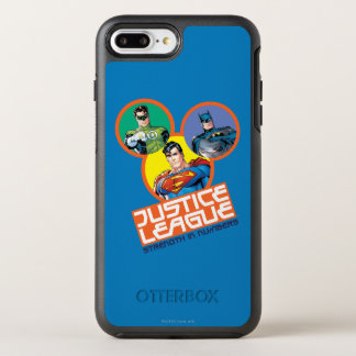 """Justice League """"Strength in Numbers"""" OtterBox Symmetry iPhone 7 Plus Case"""