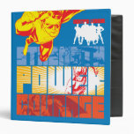 Justice League Strength. Power. Courage. Character Binders