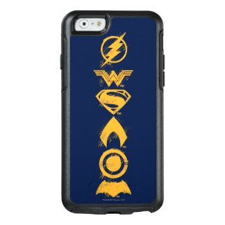 Justice League   Stylized Team Symbols Lineup OtterBox iPhone 6/6s Case