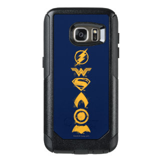 Justice League | Stylized Team Symbols Lineup OtterBox Samsung Galaxy S7 Case