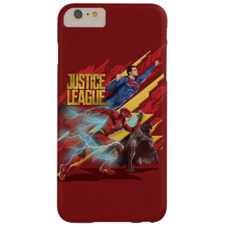 Justice League | Superman, Flash, & Batman Badge Barely There iPhone 6 Plus Case