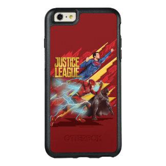 Justice League | Superman, Flash, & Batman Badge OtterBox iPhone 6/6s Plus Case