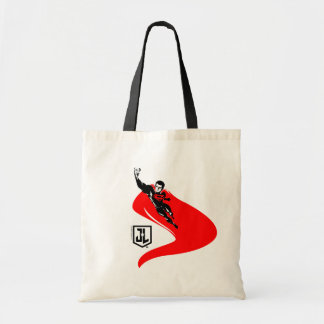 Justice League | Superman Flying Noir Pop Art Tote Bag