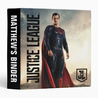 Justice League | Superman On Battlefield 3 Ring Binders