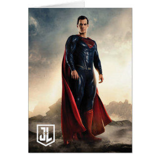 Justice League | Superman On Battlefield Card
