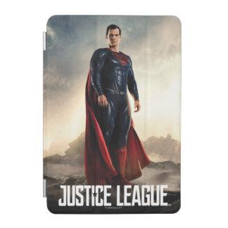 Justice League   Superman On Battlefield iPad Mini Cover