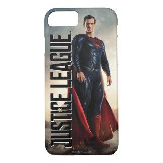 Justice League | Superman On Battlefield iPhone 8/7 Case