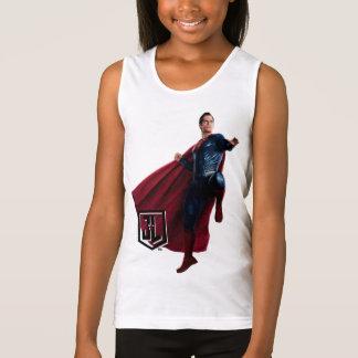 Justice League | Superman On Battlefield Tank Top