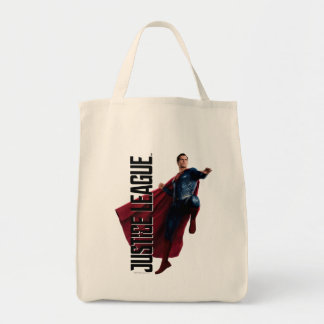 Justice League | Superman On Battlefield Tote Bag