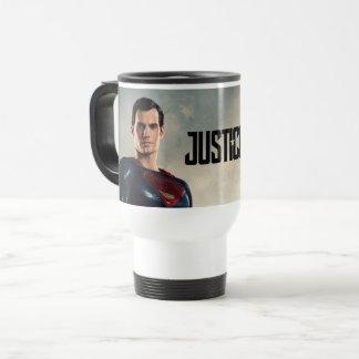Justice League | Superman On Battlefield Travel Mug