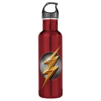 Justice League | The Flash Metallic Bolt Symbol 710 Ml Water Bottle