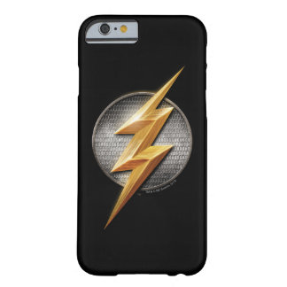 Justice League | The Flash Metallic Bolt Symbol Barely There iPhone 6 Case