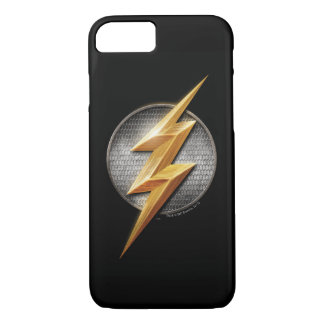 Justice League | The Flash Metallic Bolt Symbol iPhone 8/7 Case