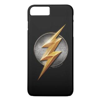 Justice League | The Flash Metallic Bolt Symbol iPhone 8 Plus/7 Plus Case
