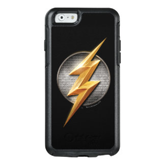 Justice League | The Flash Metallic Bolt Symbol OtterBox iPhone 6/6s Case