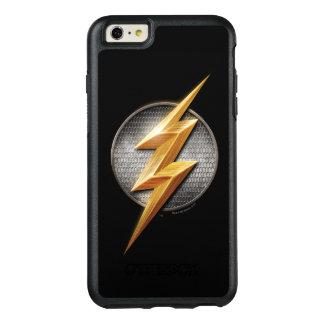 Justice League | The Flash Metallic Bolt Symbol OtterBox iPhone 6/6s Plus Case