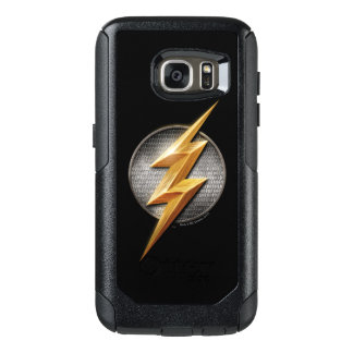 Justice League | The Flash Metallic Bolt Symbol OtterBox Samsung Galaxy S7 Case