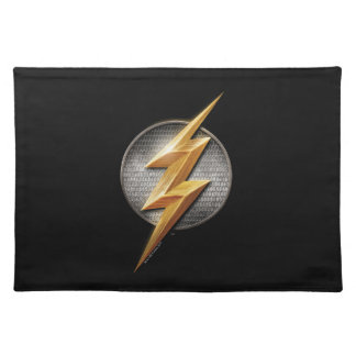 Justice League | The Flash Metallic Bolt Symbol Placemat