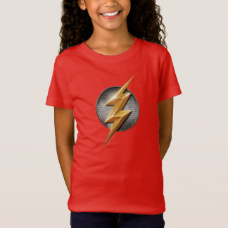 Justice League | The Flash Metallic Bolt Symbol T-Shirt