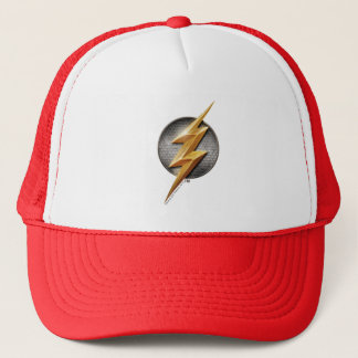 Justice League | The Flash Metallic Bolt Symbol Trucker Hat