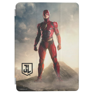 Justice League   The Flash On Battlefield iPad Air Cover