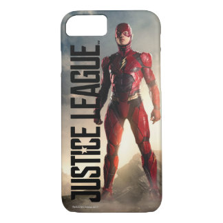 Justice League | The Flash On Battlefield iPhone 8/7 Case